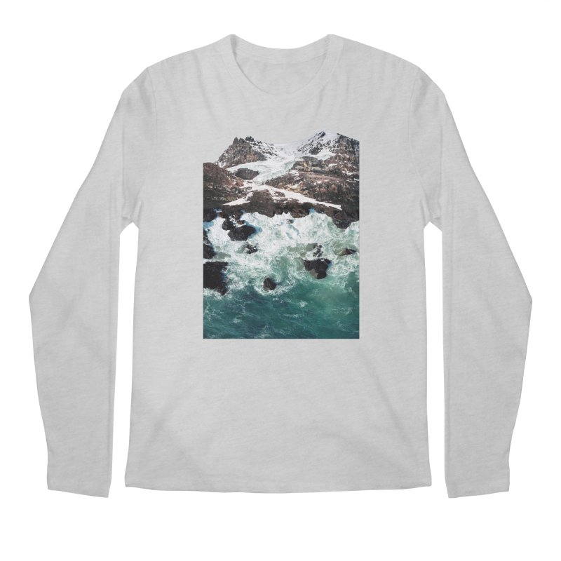 Sea and Mountains Men's Longsleeve T-Shirt by DavidBS