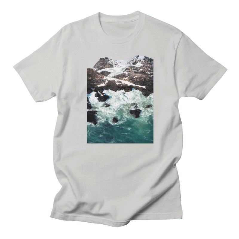 Sea and Mountains Women's Regular Unisex T-Shirt by DavidBS