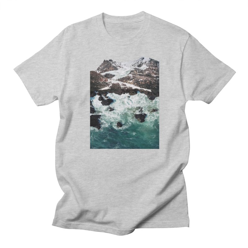 Sea and Mountains Men's T-shirt by DavidBS