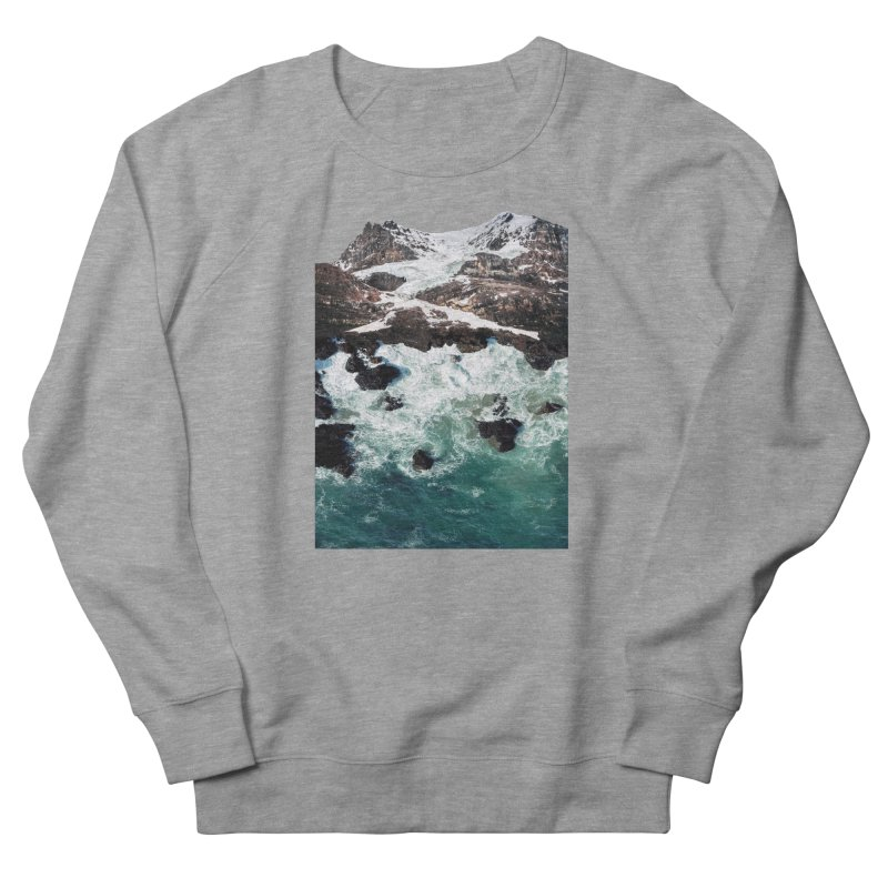 Sea and Mountains Men's Sweatshirt by DavidBS