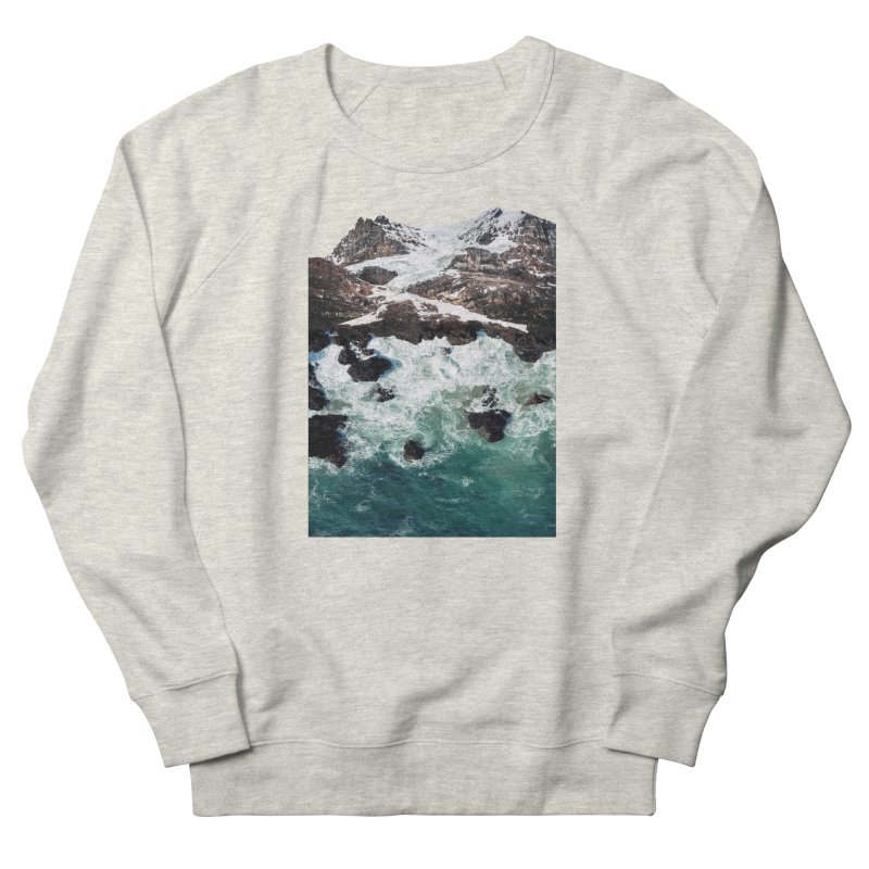 Sea and Mountains Men's French Terry Sweatshirt by DavidBS