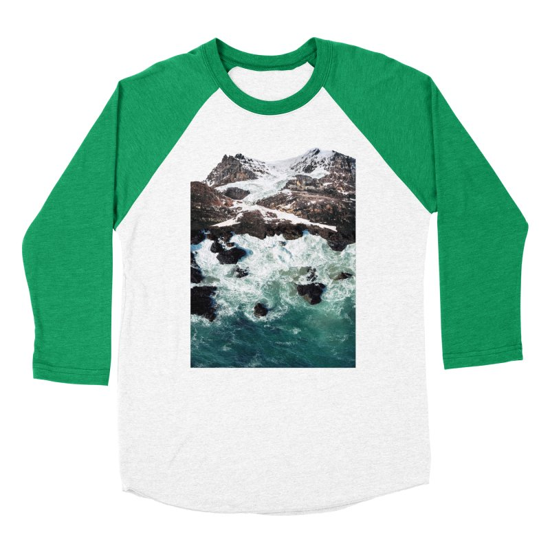 Sea and Mountains Women's Baseball Triblend Longsleeve T-Shirt by DavidBS