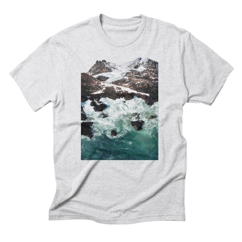 Sea and Mountains Men's Triblend T-shirt by DavidBS