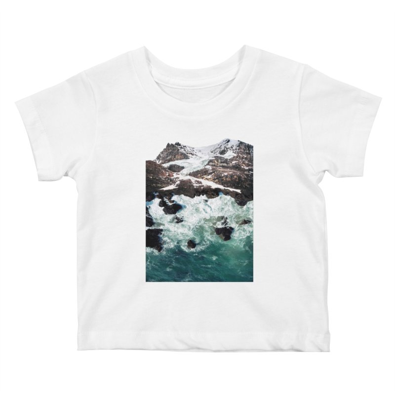 Sea and Mountains Kids Baby T-Shirt by DavidBS