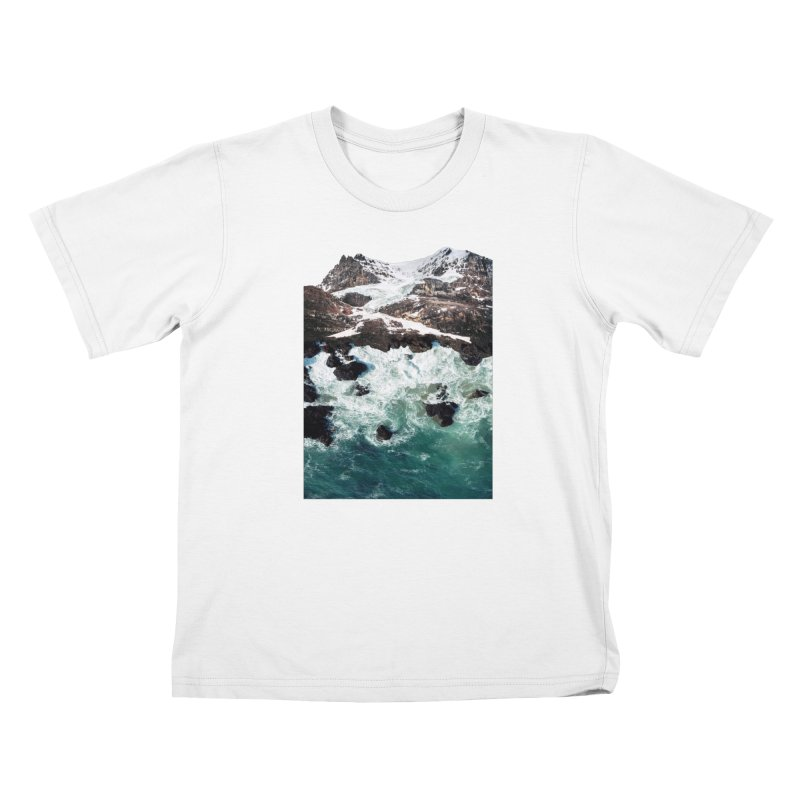 Sea and Mountains Kids Toddler T-Shirt by DavidBS