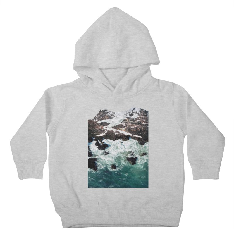 Sea and Mountains Kids Toddler Pullover Hoody by DavidBS