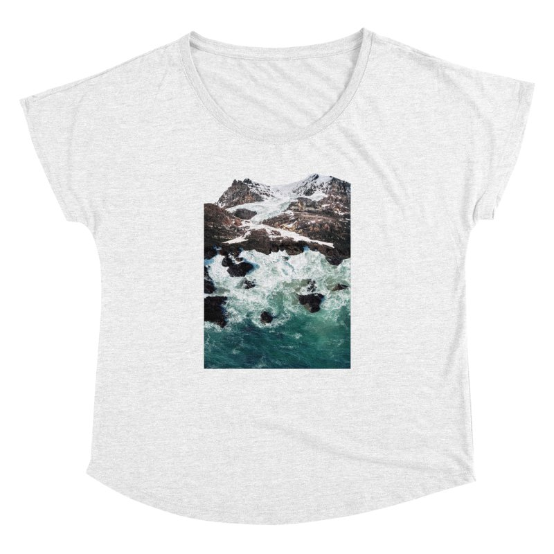 Sea and Mountains Women's Dolman by DavidBS