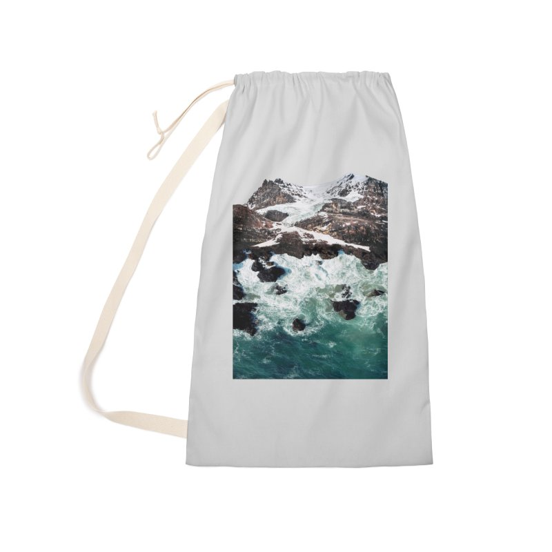 Sea and Mountains Accessories Laundry Bag Bag by DavidBS