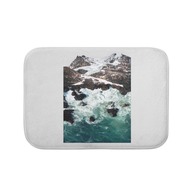 Sea and Mountains Home Bath Mat by DavidBS