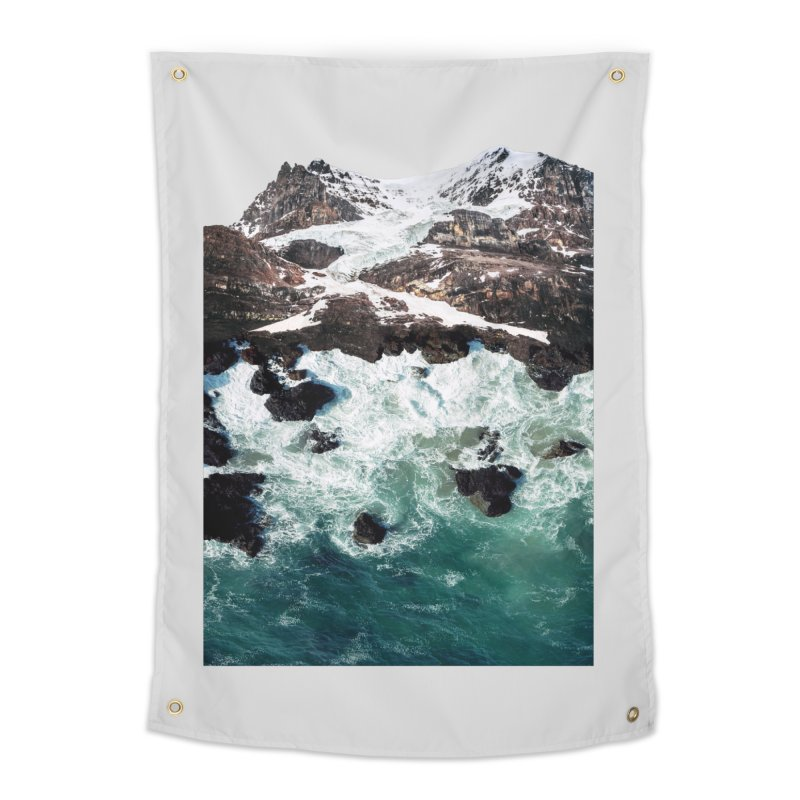 Sea and Mountains Home Tapestry by DavidBS