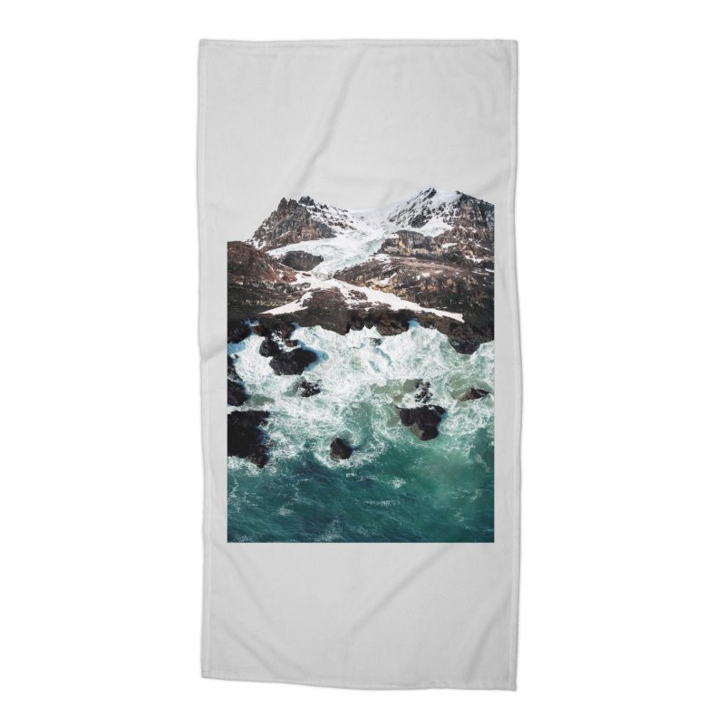 Sea and Mountains Accessories Beach Towel by DavidBS