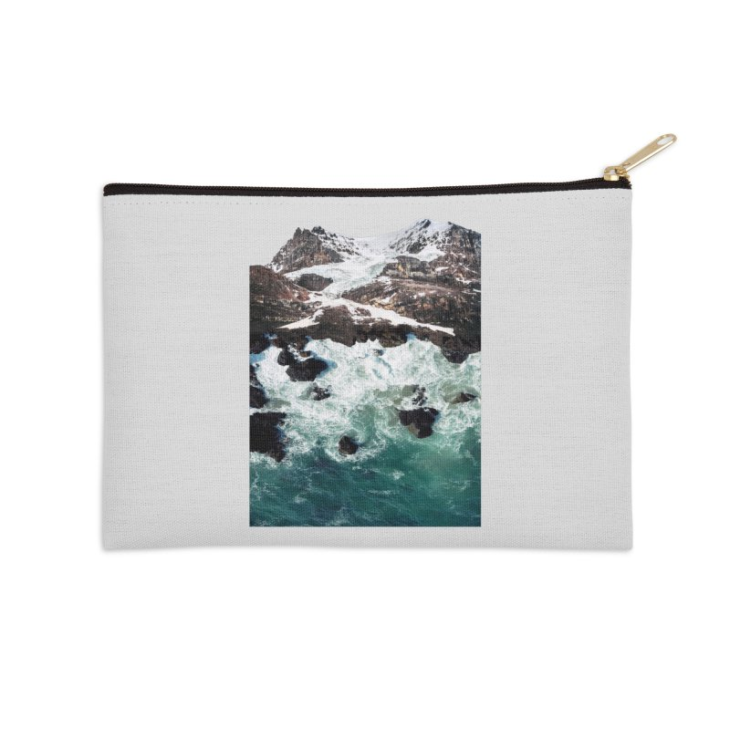 Sea and Mountains Accessories Zip Pouch by DavidBS