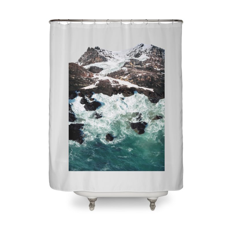 Sea and Mountains Home Shower Curtain by DavidBS