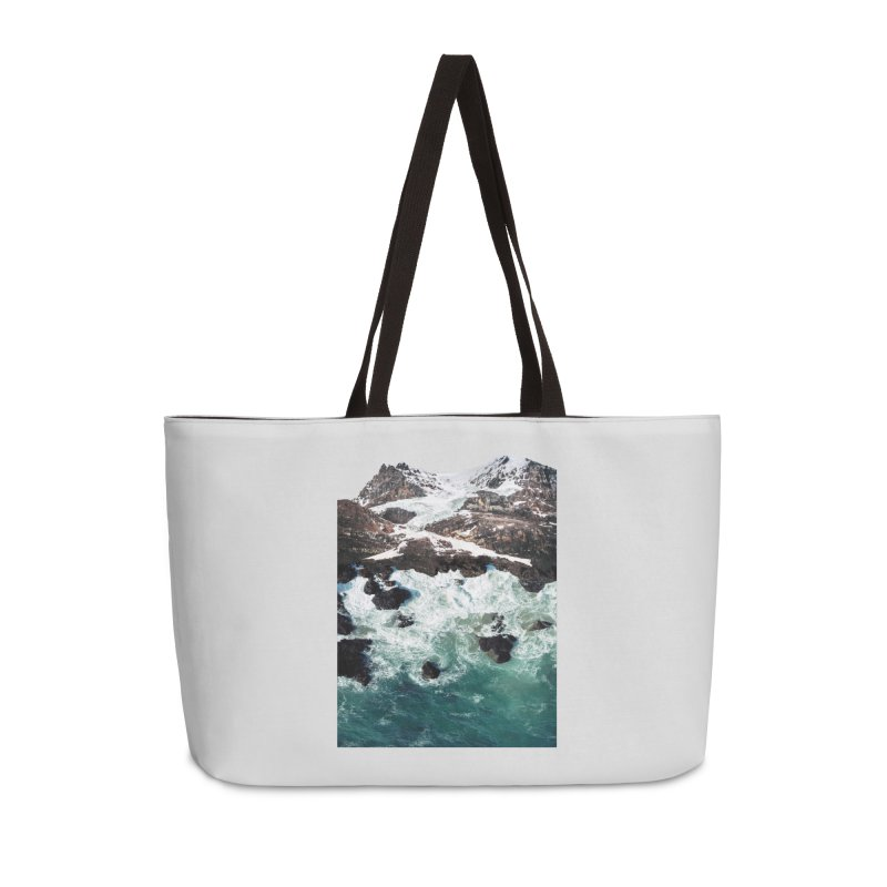 Sea and Mountains Accessories Weekender Bag Bag by DavidBS