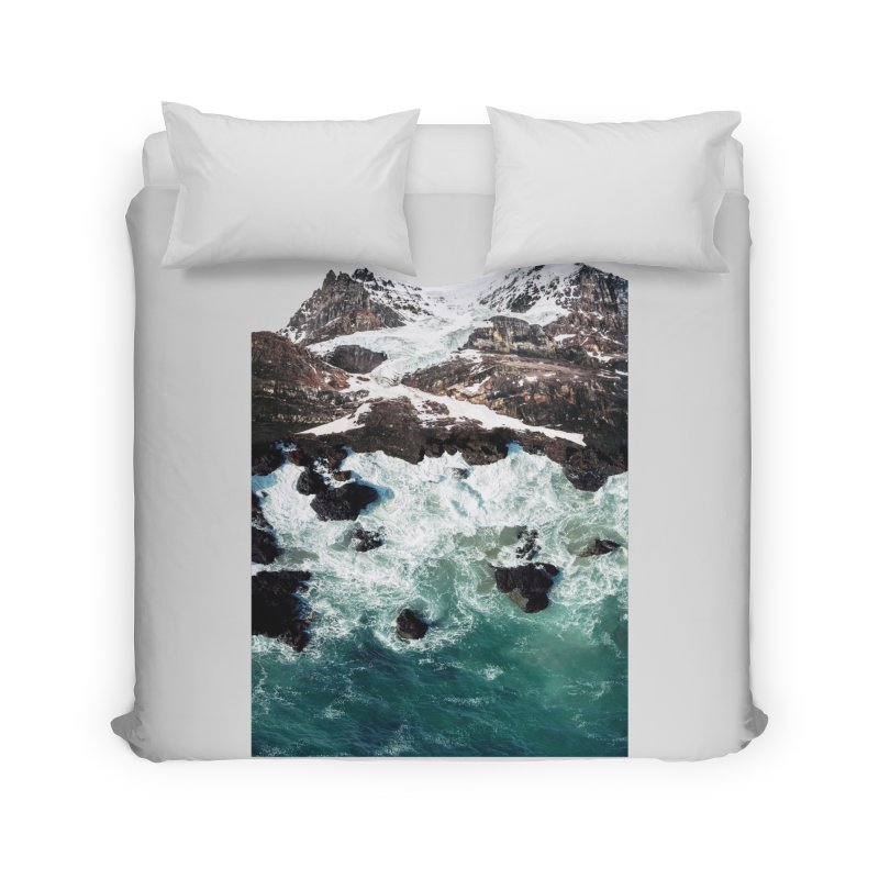 Sea and Mountains Home Duvet by DavidBS