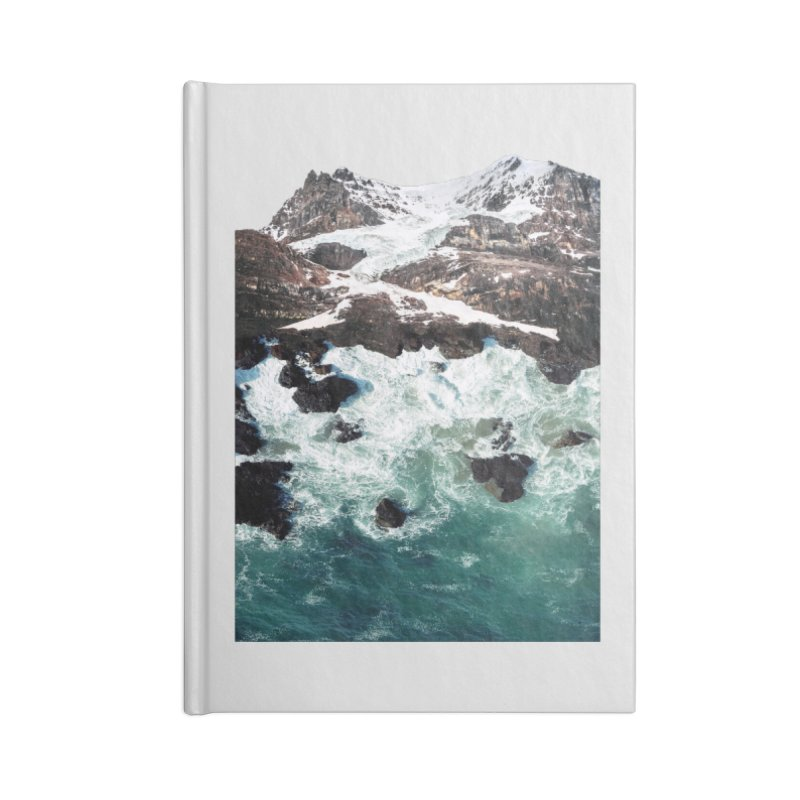 Sea and Mountains Accessories Blank Journal Notebook by DavidBS