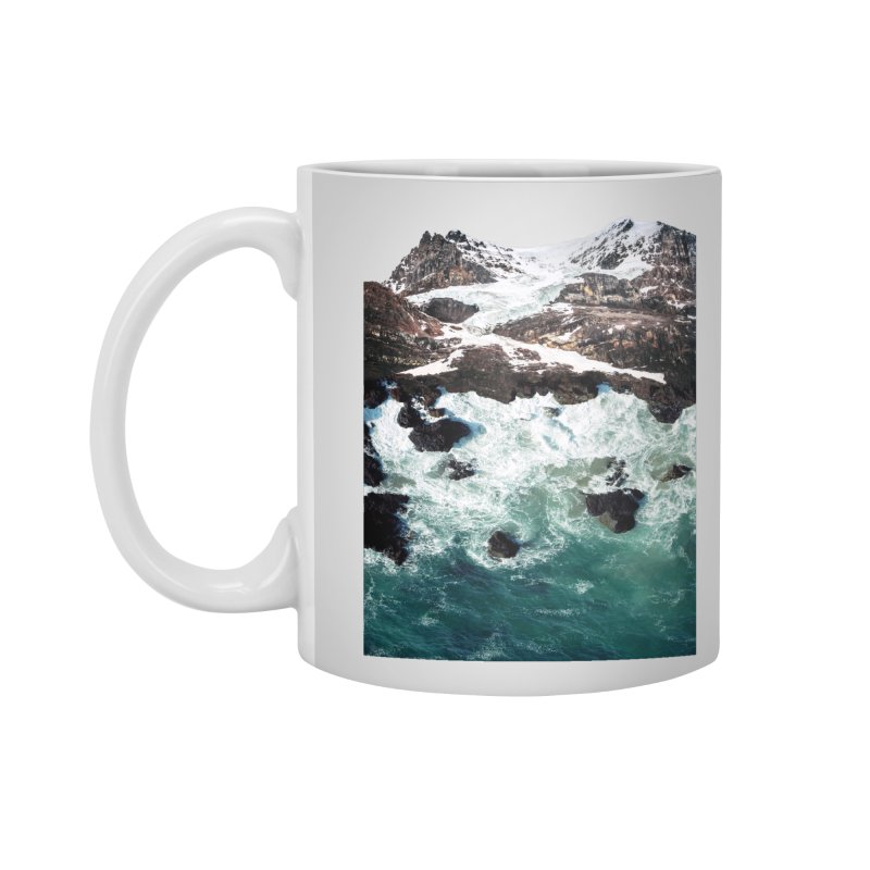 Sea and Mountains Accessories Standard Mug by DavidBS