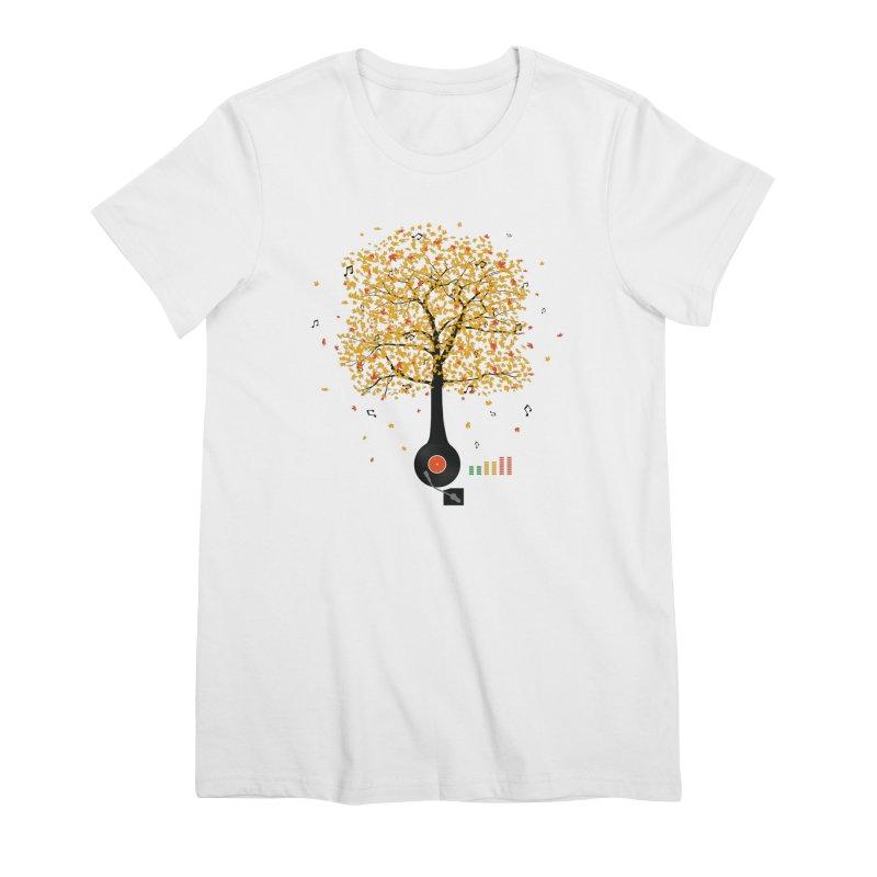 Sounds of Nature Women's T-Shirt by DavidBS