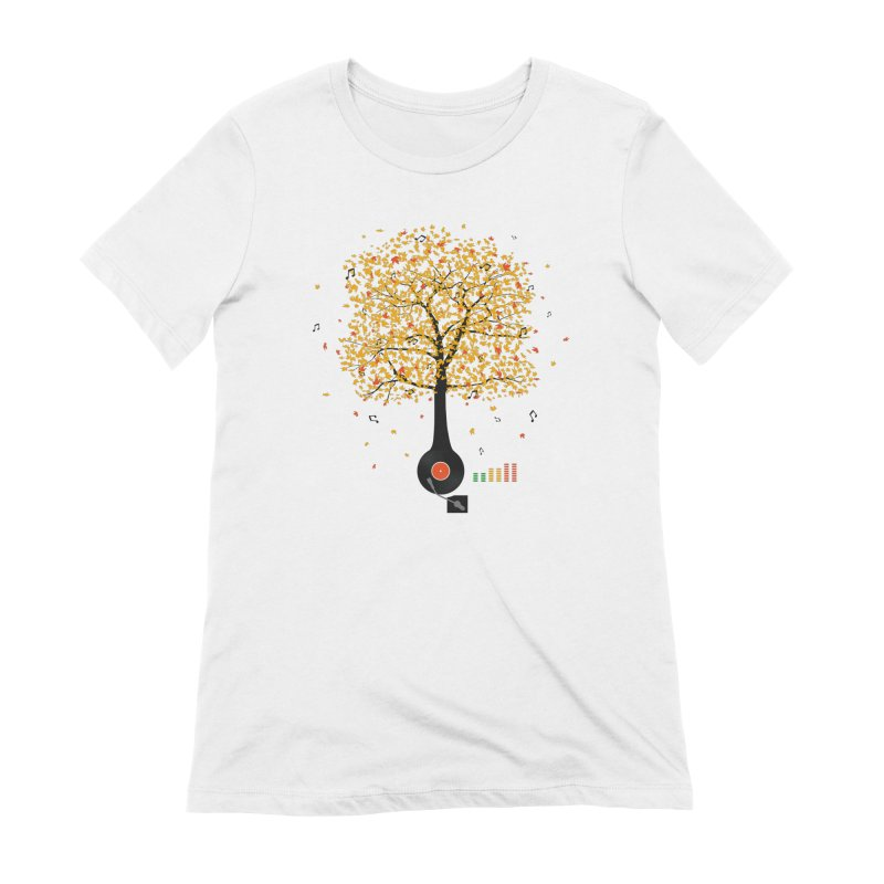Sounds of Nature Women's T-Shirt by DavidBS