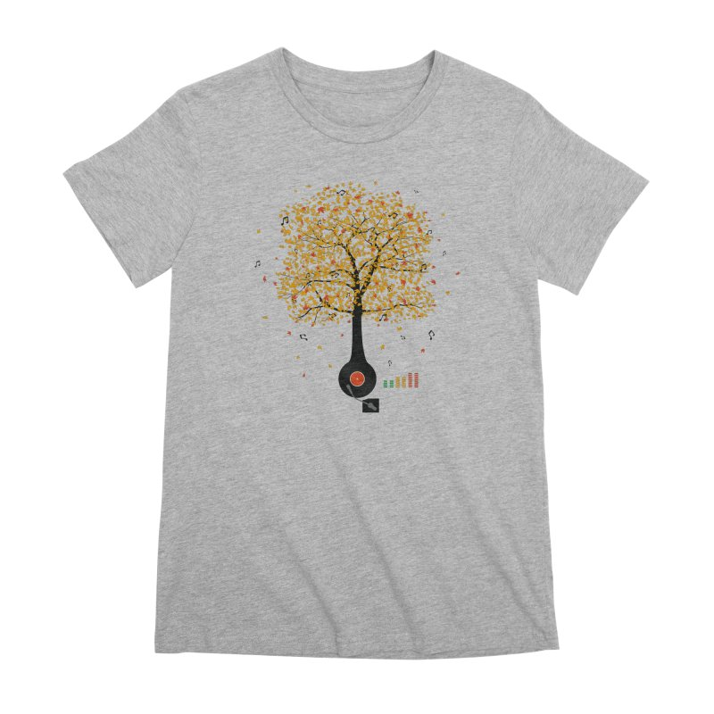 Sounds of Nature Women's Premium T-Shirt by DavidBS