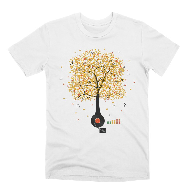 Sounds of Nature Men's Premium T-Shirt by DavidBS