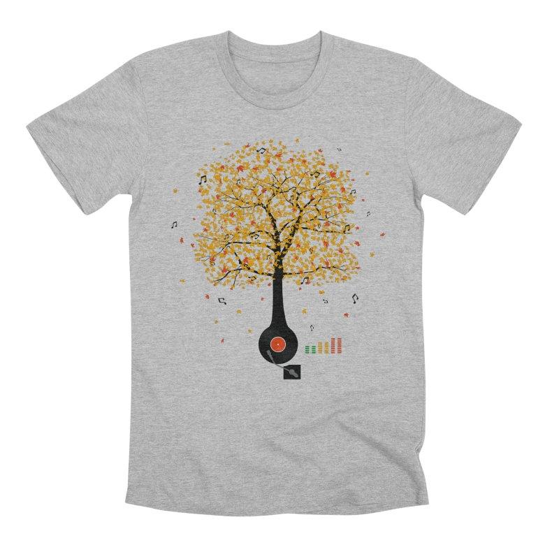 Sounds of Nature Men's Premium T-Shirt by DavidBS
