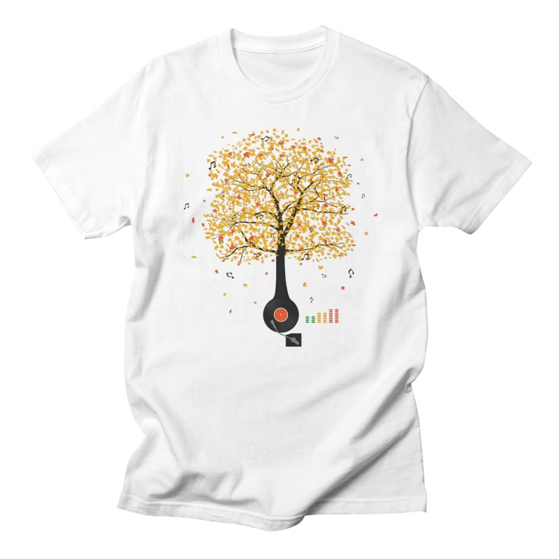 Sounds of Nature Men's T-shirt by DavidBS