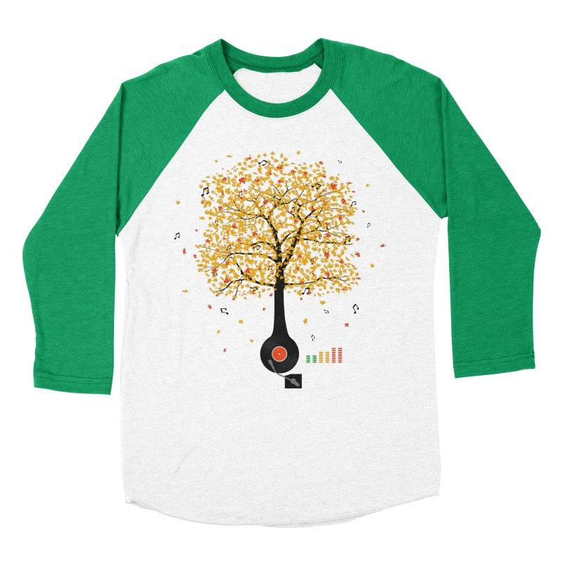 Sounds of Nature Women's Baseball Triblend Longsleeve T-Shirt by DavidBS