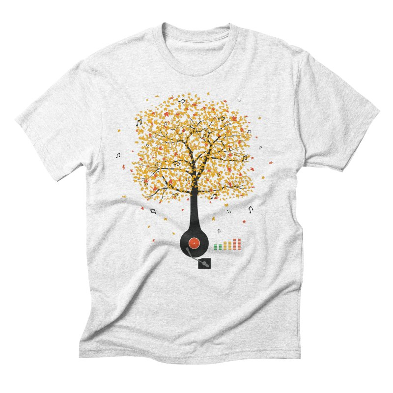 Sounds of Nature Men's Triblend T-shirt by DavidBS
