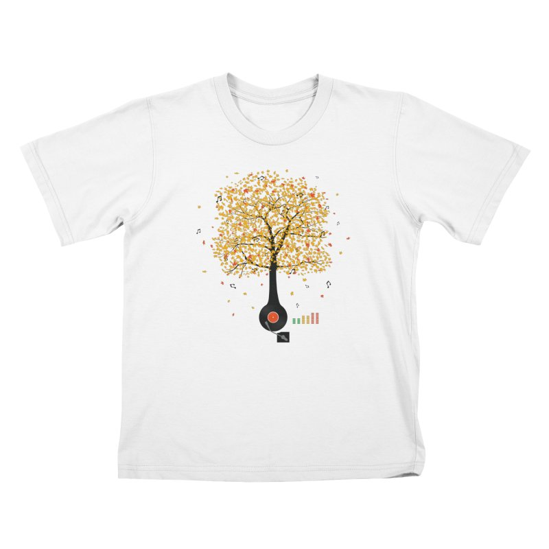 Sounds of Nature Kids Toddler T-Shirt by DavidBS