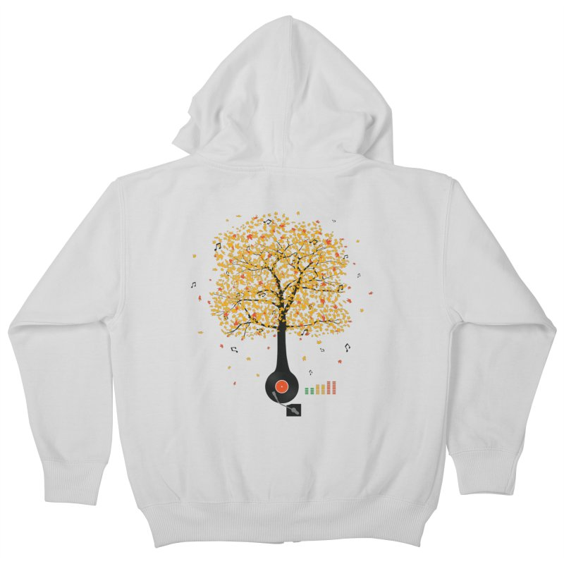 Sounds of Nature Kids Zip-Up Hoody by DavidBS