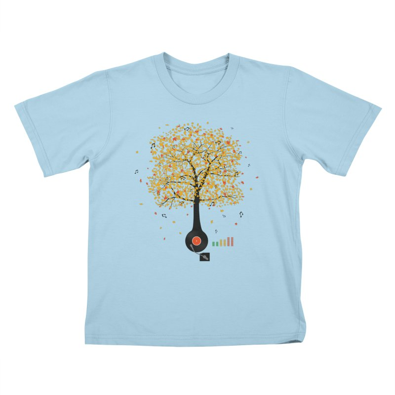 Sounds of Nature Kids T-Shirt by DavidBS