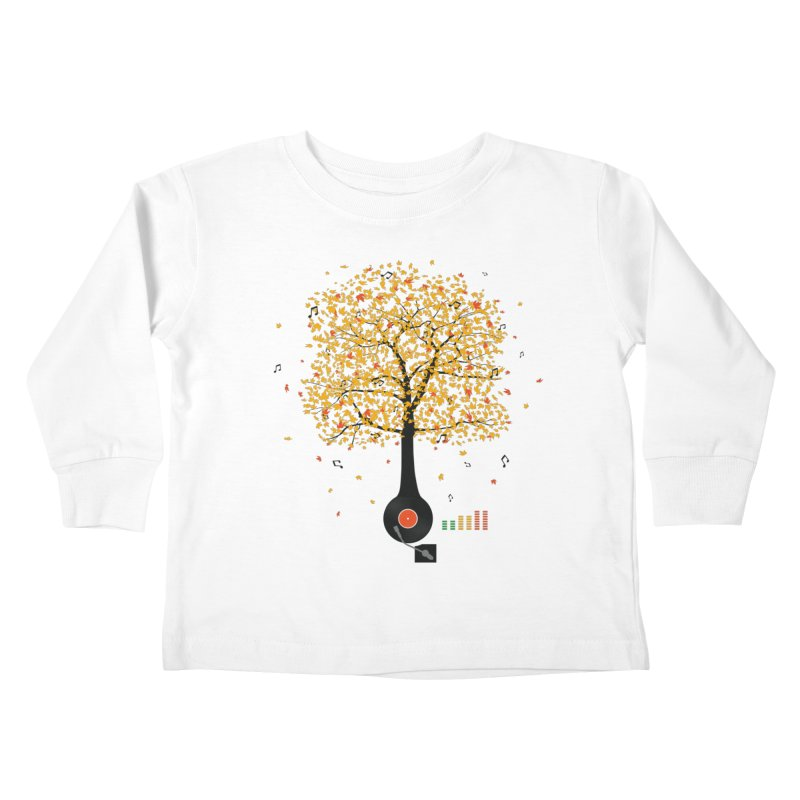 Sounds of Nature Kids Toddler Longsleeve T-Shirt by DavidBS