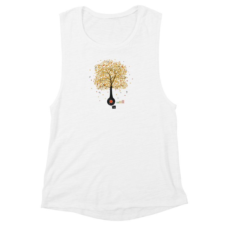 Sounds of Nature Women's Tank by DavidBS