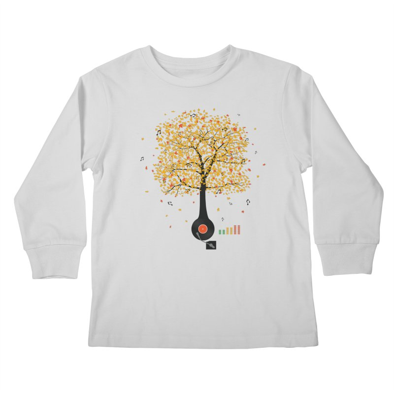 Sounds of Nature Kids Longsleeve T-Shirt by DavidBS