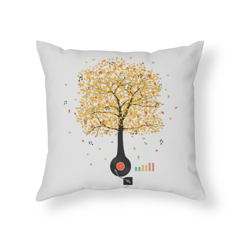 Sounds of Nature Home Throw Pillow by DavidBS