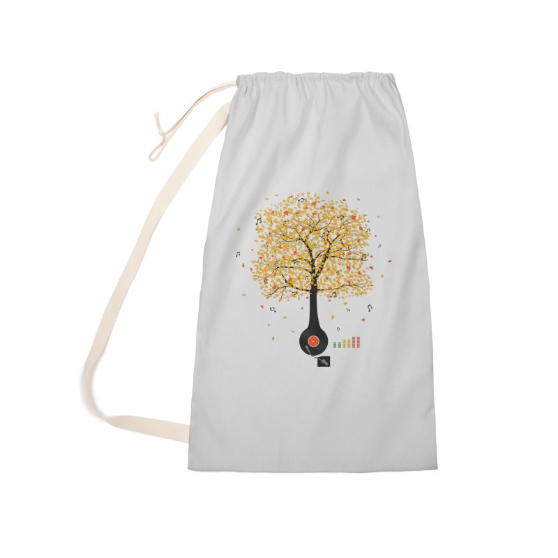 Sounds of Nature Accessories Laundry Bag Bag by DavidBS