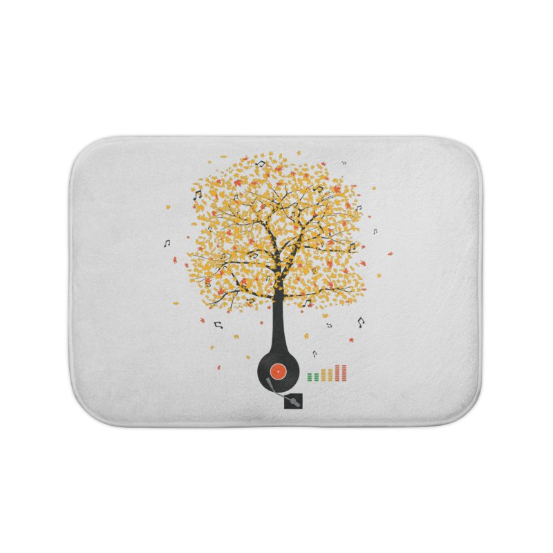 Sounds of Nature Home Bath Mat by DavidBS