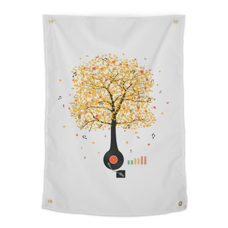 Sounds of Nature Home Tapestry by DavidBS