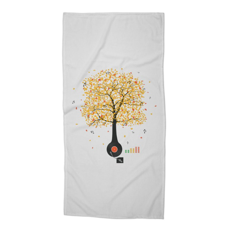 Sounds of Nature Accessories Beach Towel by DavidBS