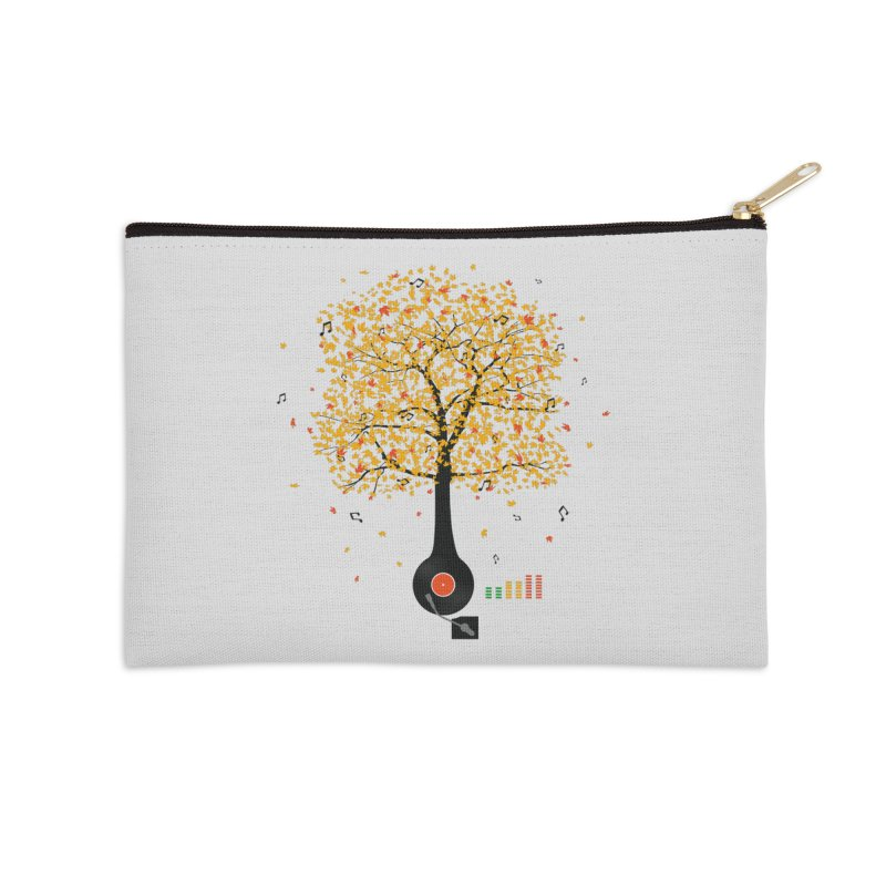 Sounds of Nature Accessories Zip Pouch by DavidBS