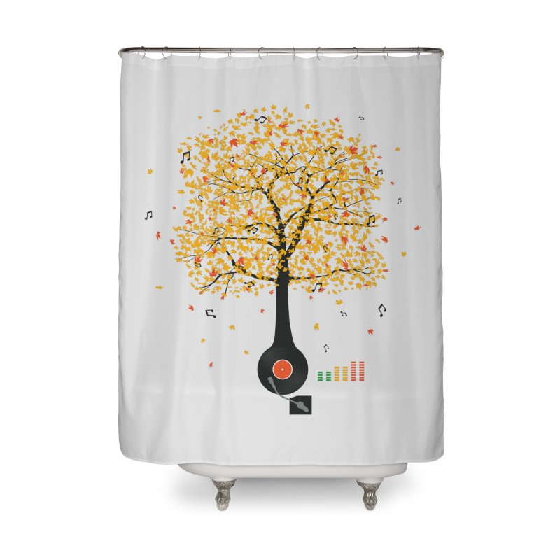 Sounds of Nature Home Shower Curtain by DavidBS