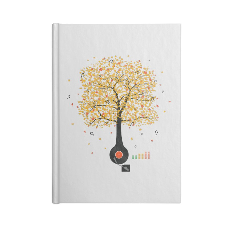 Sounds of Nature Accessories Lined Journal Notebook by DavidBS