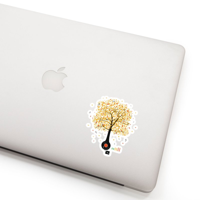 Sounds of Nature Accessories Sticker by DavidBS