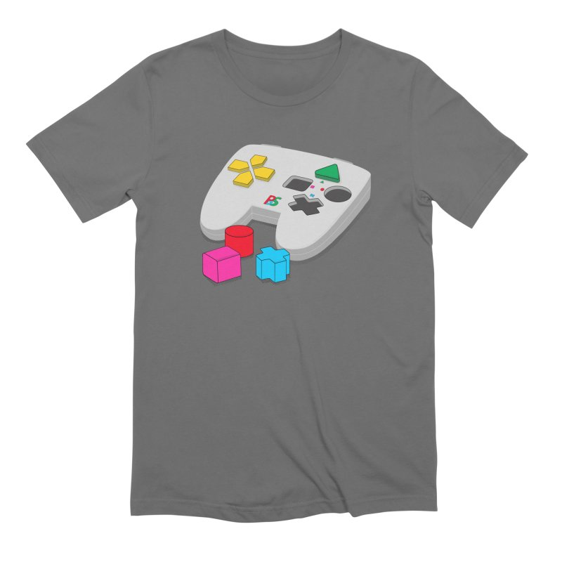 Gamer Since Early Years Men's Extra Soft T-Shirt by DavidBS