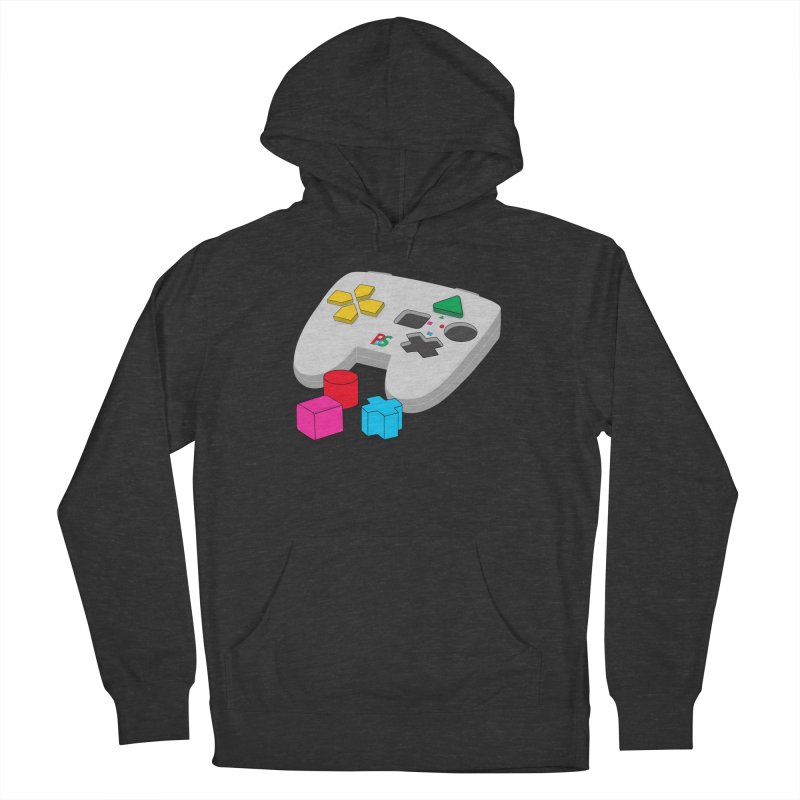 Gamer Since Early Years Men's French Terry Pullover Hoody by DavidBS