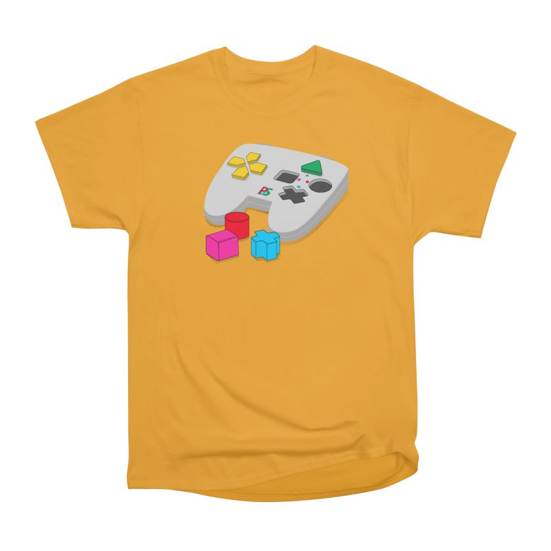 Gamer Since Early Years Men's Heavyweight T-Shirt by DavidBS