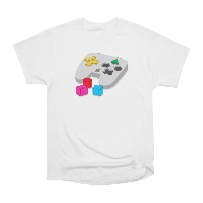 Gamer Since Early Years Women's Heavyweight Unisex T-Shirt by DavidBS