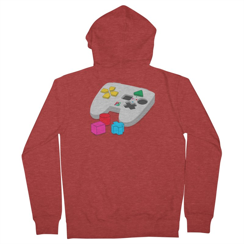 Gamer Since Early Years Men's French Terry Zip-Up Hoody by DavidBS