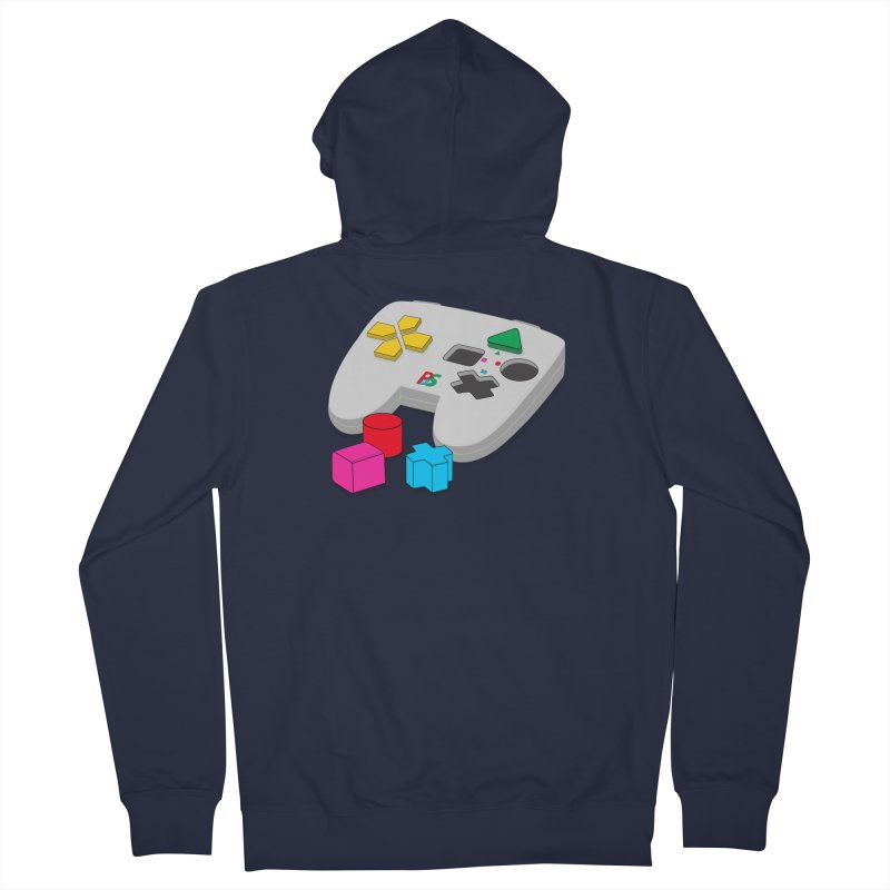 Gamer Since Early Years Men's Zip-Up Hoody by DavidBS
